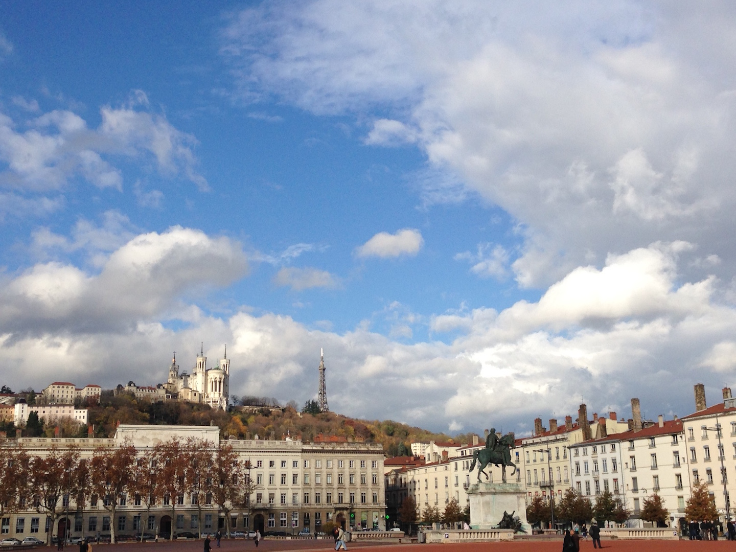 lyon - place bellecour