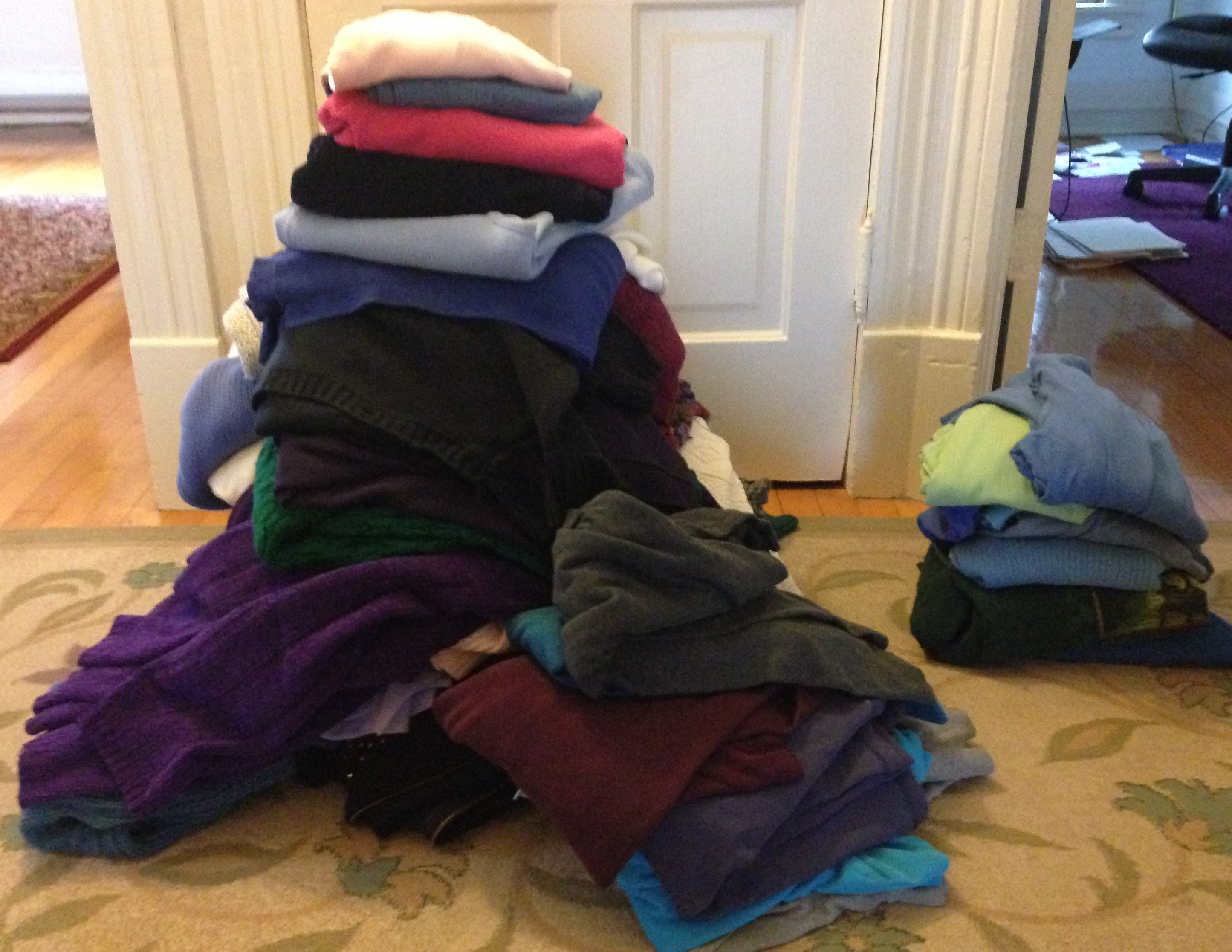 ndwc_wardrobe consult_donation pile