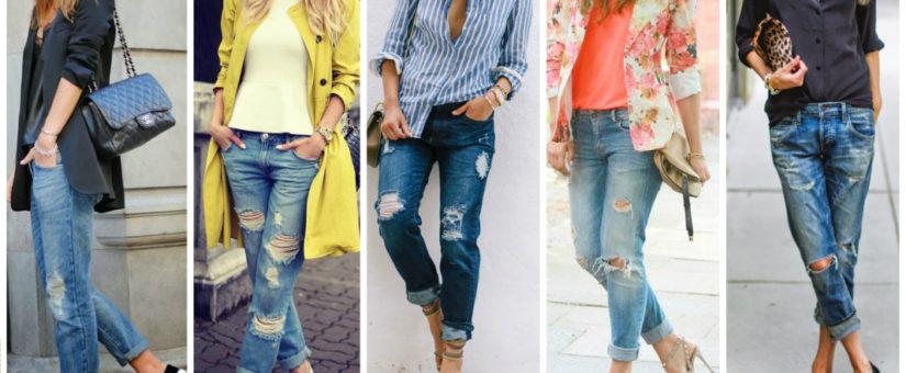 Boyfriend jeans 6 ways
