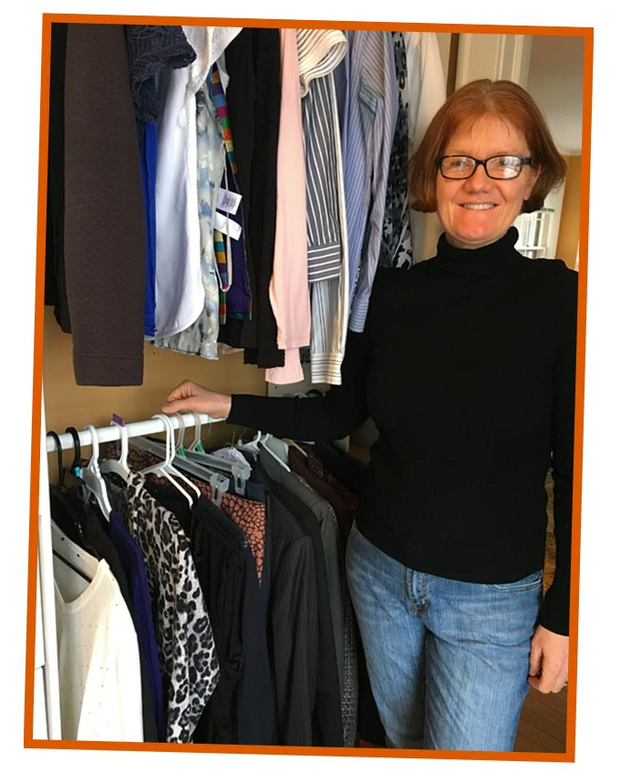 Wardrobe style revisit and personal shopping - client refresh