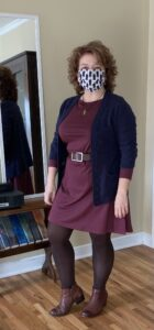 client spotlight: wooland rowena with blue cardigan