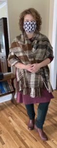 client spotlight: wooland rowena with woven blanket wrap