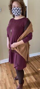 client spotlight: wooland rowena with pashmina scarf